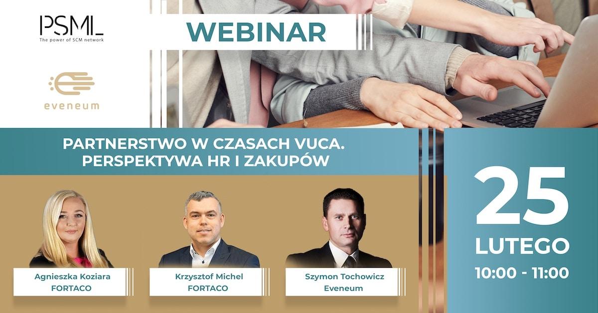 Partnerstwo w czasach VUCA z perspektywy HR i zakupów